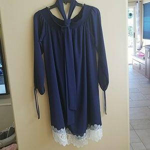 Brand new Michael Kors Navy dress size medium